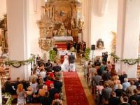 Kirchenbild Sankt Michael in der Wachau Kirchenschiff