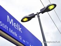 Lichtmasten Bahnhof Melk