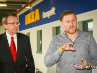 IKEA Austria Bürgermeister Matthias Stadler Standortmanager Uwe Kurz 3100 St Pölten